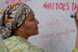 Vice-chefe da ONU denuncia 'pandemia global' de violência contra as mulheres