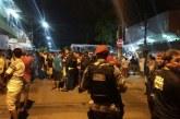 Jovens fazem protesto contra o racismo nas abordagens policiais em Fortaleza (CE)