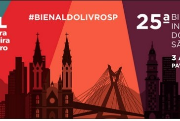 Saiu a programação da 25ª Bienal Internacional do Livro de São Paulo!