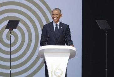 Em discurso do centenário de Mandela, Obama é comparado a Madiba