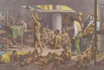 Navios portugueses e brasileiros fizeram mais de 9 mil viagens com escravos da África para o Brasil