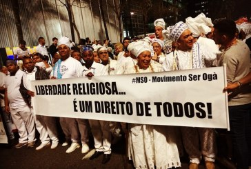 SP: Marcha denuncia tentativa de criminalizar cultos de matriz africana