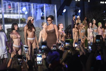 Rihanna apresenta desfile de lingerie cheio de arte e diversidade na Semana de Moda de Nova York!