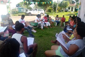 Quilombolas participam de oficina sobre direitos humanos