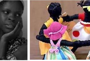 Oficina de bonecas Abayomis com contos africanos, com Carla França