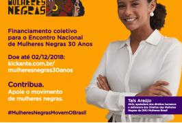 Encontro em Goiânia lembra 30 anos do movimento de mulheres negras no Brasil