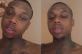 Dfideliz chora após sofrer racismo na Internet
