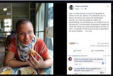 Sem cabelos por causa da quimioterapia, mulher é agredida ao ser confundida com homossexual no Rio