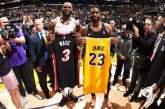 NBA: Na despedida de Wade a LeBron, Lakers batem o Heat e chegam à sexta vitória nos últimos sete jogos