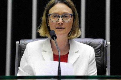 Foto da deputada federal Maria do Rosário