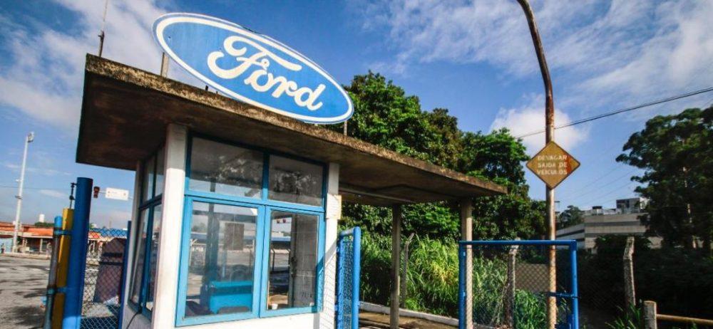 Entrada da rede de Carros Ford