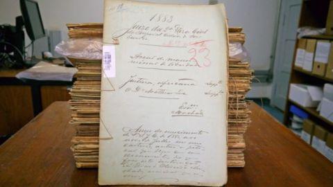 Pilha de ações impetradas por pessoas escravizadas no final do século 19