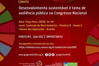 Organizações da sociedade civil vão ao Congresso denunciar desmonte da Agenda 2030 no Brasil