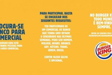 Diversidade importa!: Burger King convoca elenco vetado em comercial do Banco do Brasil
