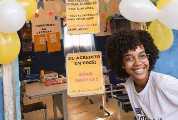Gabriella Freire, professora de Magé, inova na aplicação de provas para ajudar alunos