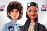 Rosa Parks e Sally Ride dois ícones históricos ganham sua versão Barbie