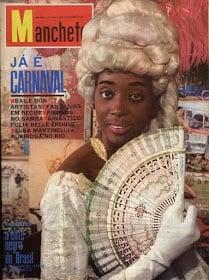 Léa Garcia na capa da revista Manchete