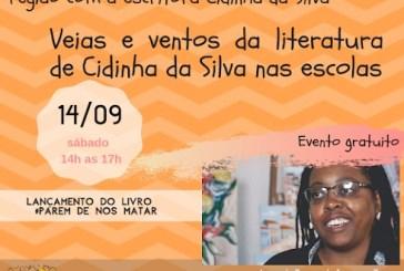 Roda de conversa com Cidinha da Silva sobre seus livros no IBAO