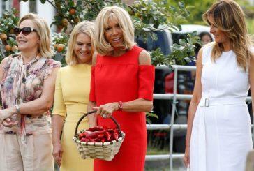 Primeiras-damas ou damas decorativas com pimentões?