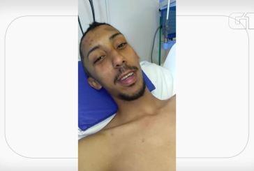 Jovem agredido ao sair de balada no ABC sai do coma e grava vídeo: 'Estou bem'