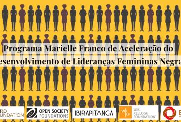 Inspirado em Marielle Franco, programa quer transformar mulheres negras em líderes
