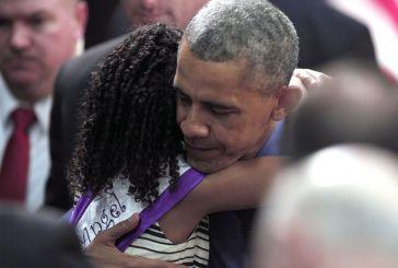 Aos 8 anos, Mari Copeny, ativista ambiental e da negritude americana, foi recebida por Obama.