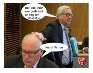 Video! EU-tiran Timmermans weer aan het stemmentrekken met angstzaaien: 'Europa kan ook kapot!'