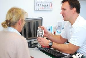 Behandlungsbereiche im Gelenkzentrum Bergisch Land: Knie