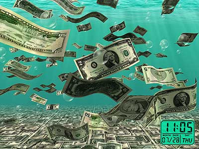 Falling Money 3d Live Wallpaper Windows Screensaver Free 3d Fireplace Screensavers Download