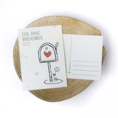 brievenbuskus-wenskaart