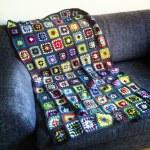 Neues von der Grannysquare-Decke