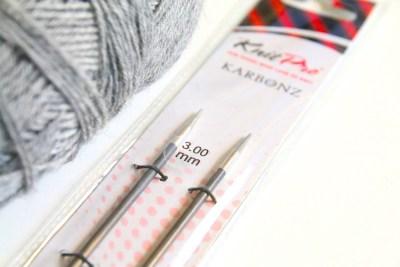 karbonnadeln von knit pro