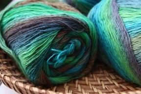 Grannytuch Meeresfarben 2