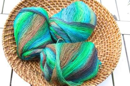 Grannytuch Meeresfarben 3