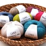 Feines Garn in schönen Farben: Langyarns Merino 400 Lace neu im Shop