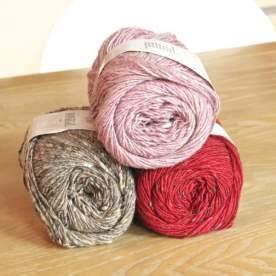 Rosa - Beige - Rot