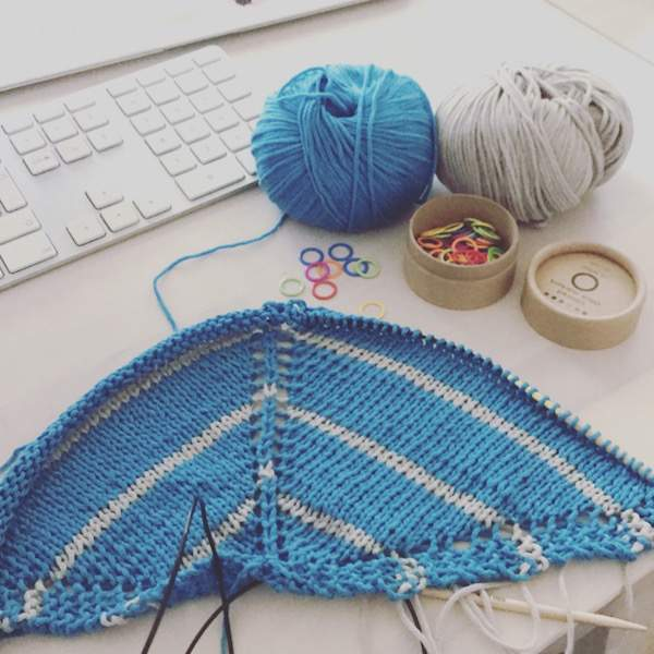 Mysig goes Stripes mit Lang Yarns Fifty