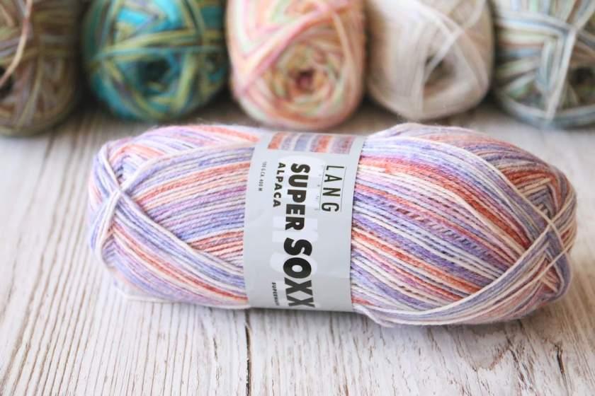 Super Soxx Alpaka von Lang Yarns Farbe 153