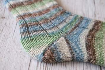 Super Soxx Alpaka von Lang Yarns Socken mit Bumerangferse
