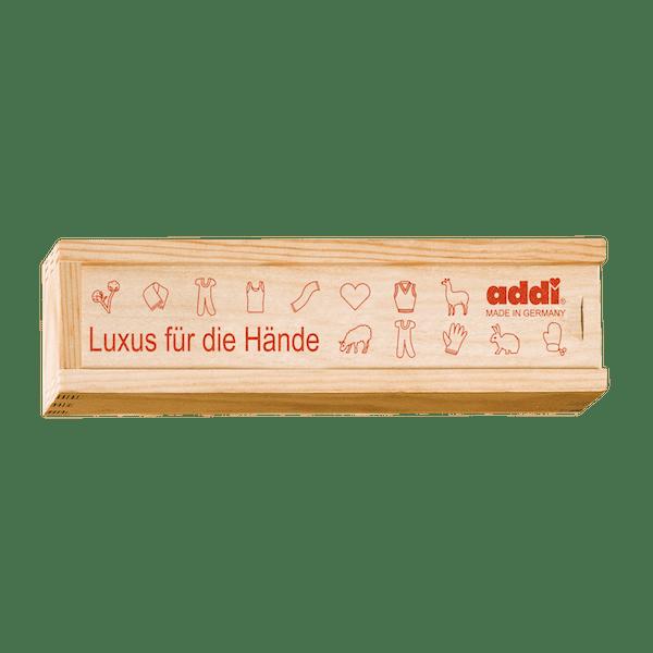 addi Holzbox fuer Haekelnadeln