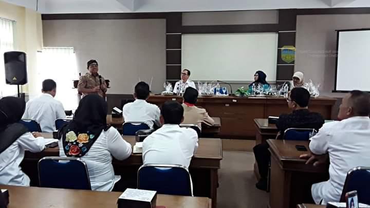 Dalam Rangka Pencegahan Stunting Anggota DPR RI Komisi IX Kunjungi Dinkes Kab. Tasikmalaya