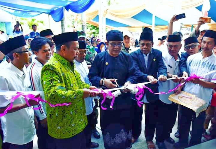 Peresmian Masjid Jami Al-Istiqomah Rajapolah Dihadiri dan Diresmikan oleh Bupati Tasikmalaya