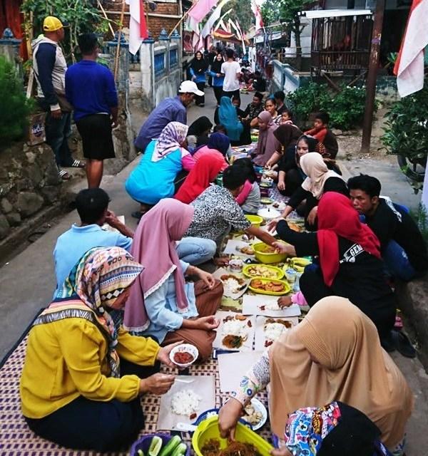 Sambut Muharram, Gemulti Gelar Mabora di Sepanjang Jalan Leuwigenta 3