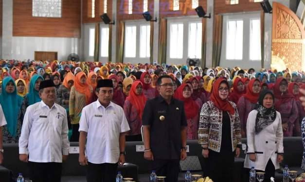 Bupati Hadiri Pembinaan Akbar Kader Dalam Rangka Revitalisasi Posyandu