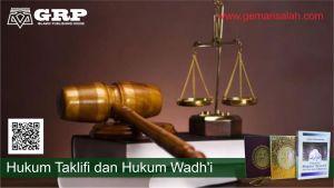 hukum hukum taklifi