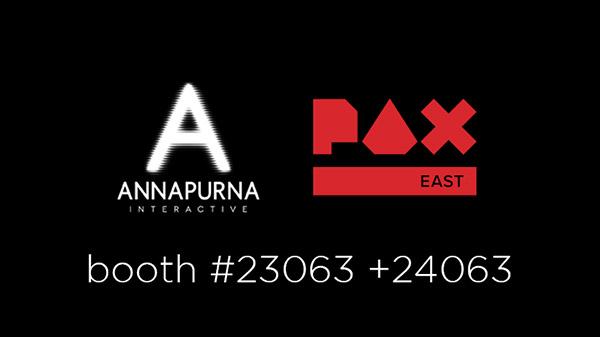 Annapurna Interactive at PAX East 2020