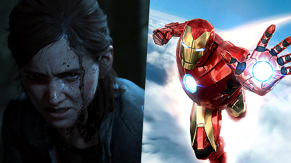 The Last of Us Part II and Marvel's Iron Man VR