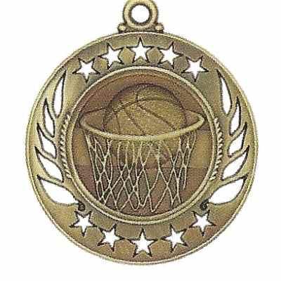 High End Basketball Medal