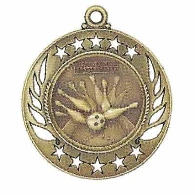 High End Bowling Medal