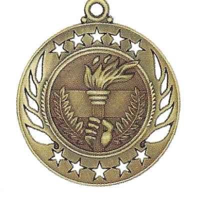 High End Victory Torch Medal